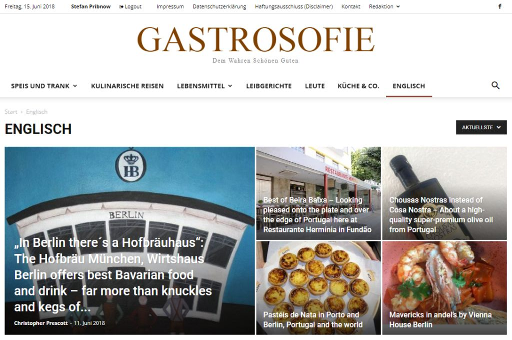 GASTROSOFIE English