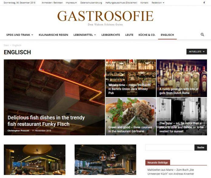 Gastrosofie